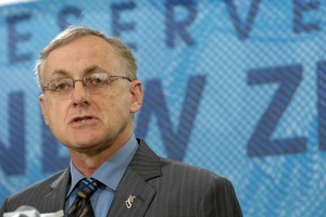 Reserve Bank Governor Alan Bollard will release a statement on Thursday. Photo / NZPA