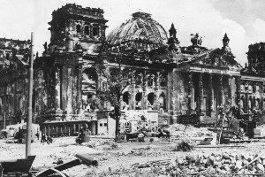 As grim as today's economy sounds, Germany survived World War II and the destruction of the Reichstag, its former seat of government, and will come through this crisis in Europe. Photo / Supplied