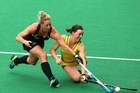 Sophie Devine adds composure to the Black Sticks backline, has a good eye and is a strong hitter of the ball. Photo / Getty Images