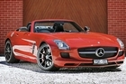 Mecedes-Benz SLS AMG roadster. Photo / Supplied