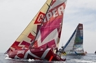 The third leg is a 3300 nautical mile stage from the Maldives to Sanya in China. Photo / CAMPER ETNZ-Volvo Ocean Race