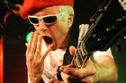 Captain Sensible wasn't happy about a beer-throwing incident at his Auckland show with The Damned. Photo / Supplied