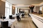 The dining room of Ibsens Hotel's upmarket La Rocca restaurant. Photo / Stine Heilmann