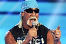 Hulk Hogan says he almost joined heavy metallers Metallica. Photo / AP