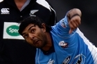 Left-arm spinner Ronnie Hira was an essential part of Auckland's successful HRV Cup defence. Photo / Sarah Ivey