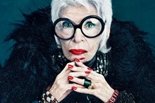 Iris Apfel. Photo / Supplied