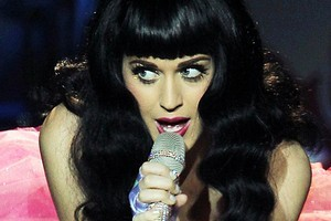 Katy Perry is said to be sad after her ex Russell Brand started dating a new girl. Photo / NZ Herald