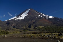 Mount Llaima in Chile's Conguillio National Park is one of the coun