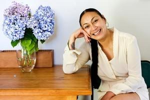 Gua Loheni - co-designer of label Lew Lew. Photo / Babiche Martens