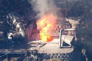 Pike River mine blast. Photo / Mark Mitchell