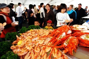 Check out the Auckland Seafood Festival for a selection of morsels. Photo / Dean Purcell