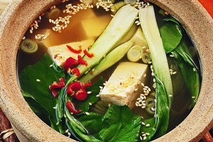 Tofu and miso are rich in umami. Photo / New Zealand Woman's Weekly