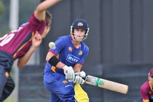Sam Wells has been named in the Black Caps test squad. Photo / Northern Advocate