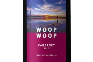 Woop Woop South Eastern Australia Cabernet 2010, $16-$19. Photo / Supplied
