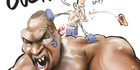 View: Cartoon: Tyson's ouch moment