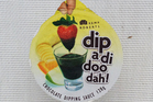 Dip a di doo dah! Chocolate Dipping Sauce $1.99 for 120g. Photo / Supplied