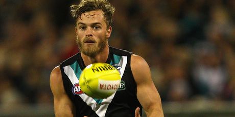 AFL player John McCarthy died on a team trip to Las Vegas. Photo / Getty Images