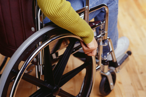 An electrical engineer at Imperial College London is working on a smart wheelchair with laser scanners and sensors to predict collisions. Photo / Thinkstock