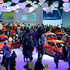 A overview of the Renault booth at the Paris Auto Show. Photo / AP