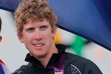 Peter Burling will debut in the America's Cup World Series tomorrow, skippering Team Korea in the match racing qualifiers. Photo / AP
