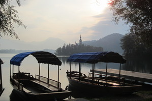 Slovenia: Lake Bled on two wheels
