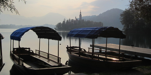 Slovenians and overseas visitors alike flock to Lake Bled for its alpine air, the springs and the scenery. Photo / Jill Worrall