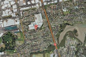 The man's body was on Sunday night on Hillside Road, Mt Wellington.