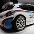 Peugeot's staunch new 208 R5 rally car. 