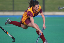 has been selected in three New Zealand squads this year in hockey, athletics and beach volleyball. Photo / Joel Ford.