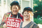 Julia Child (left) and Stephanie Hersh, who says there's nothing she wouldn't have done for her friend. Photo / Supplied