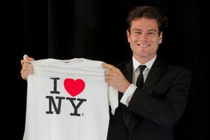 Arthur Meek, winner of the $80,000 biennial Harriet Friedlander New York Residency award. Photo / Sarah Ivey