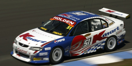 Greg Murphy racing at Sydney during the V8 Supercar championship in 2003. Photo / Robert Cianflone