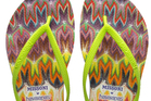 Havaianas designed by Missoni jandals retailed for NZ$96.Photo / File