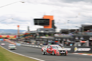 Perth driver Garth Tander is favoured again at Bathurst this year. Photo / Getty Images