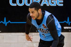 Breakers player Corey Webste. Photo / Greg Bowker
