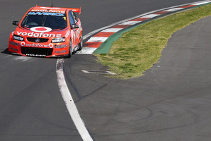 Jamie Whincup during practice for the Bathurst 1000. Photo / Robert Cianflone