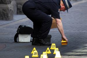 Victim fled to Aotea Square. Photo / Doug Sherring