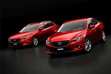 The Mazda6 range, sedan and wagon. Photo / Supplied