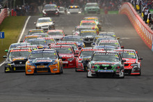 A view of the start of the Bathurst 1000, in 2011. Photo / Getty Images