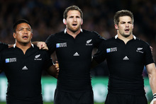 Tomorrow the All Blacks are heading into their ninth test this season with the Bledisloe and inaugural Rugby Championship trophies stashed in their kitbags. Photo / Getty Images 