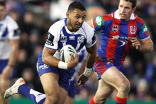 Krisnan Inu will be hoping to work the charm when he turns out for the Bulldogs today. Photo / Getty Images