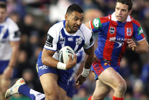 Krisnan Inu of the Bulldogs. Photo / Getty Images