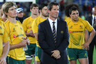 Wallabies coach Robbie Deans. Photo / Getty