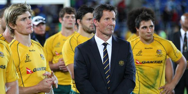 Wallabies coach Robbie Deans. Photo / Getty