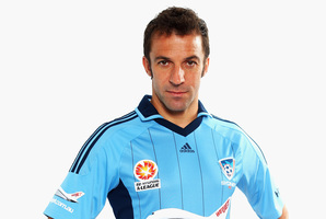 Alessandro Del Piero of Sydney FC. Photo / Getty Images