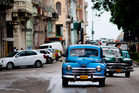 Well-preserved cars from the 1950s are a feature of Havana streets, where Cuban revolutionary leader Fidel Castro remains a significant figure. Photo / Bloomberg