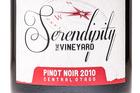 2010 Serendipity Pinot Noir. Photo / Supplied