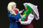 Shelby Bannister (left) and Julia Macuja say cosplay has helped them to make friends outside their own ethnic communities. Photo / Sarah Ivey