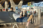 The Ostrich Pillow - &quot;power naps anytime, anywhere&quot;. Photo / Supplied