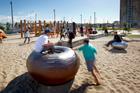 Wynyard Quarter play space. Photo / Supplied